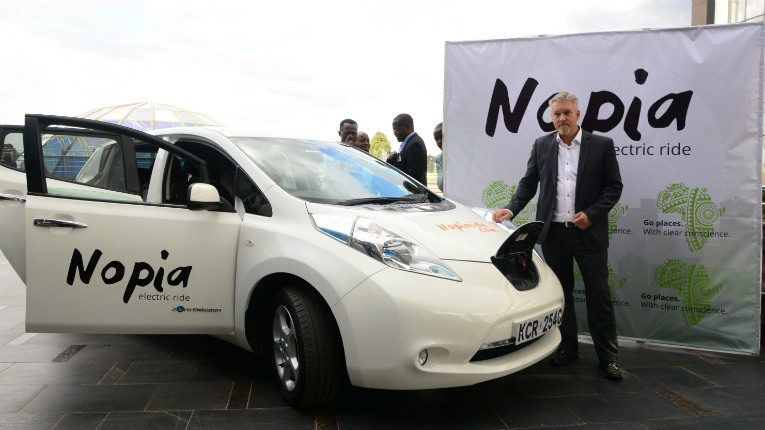Nopia Ride wants to make Nairobians' rides around town cleaner – and then spread the idea around the globe.