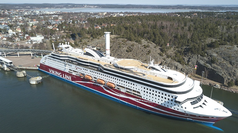The company installed its Rotor Sail technology onboard Viking Line's M/S Viking Grace in April 2018, making her the first passenger ship in the world using auxiliary wind propulsion.