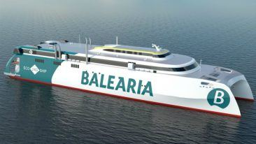 Wärtsilä is providing a fully integrated scope of supply for the largest ever high-speed catamaran being built in Spain.