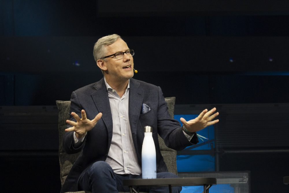 """""""The startup vibe is happening everywhere, whether in you are in Mumbai or in Memphis,"""" observed HubSpot CEO Brian Halligan."""