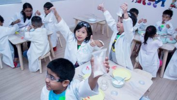 Kide Science nourishes children's natural curiosity with play-based science education.