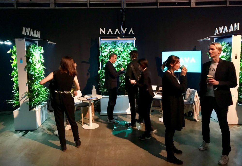 Finnish company Naava brought some fresh air to proceedings.