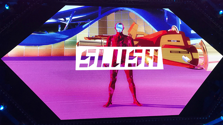 The future is now. Slush is here.