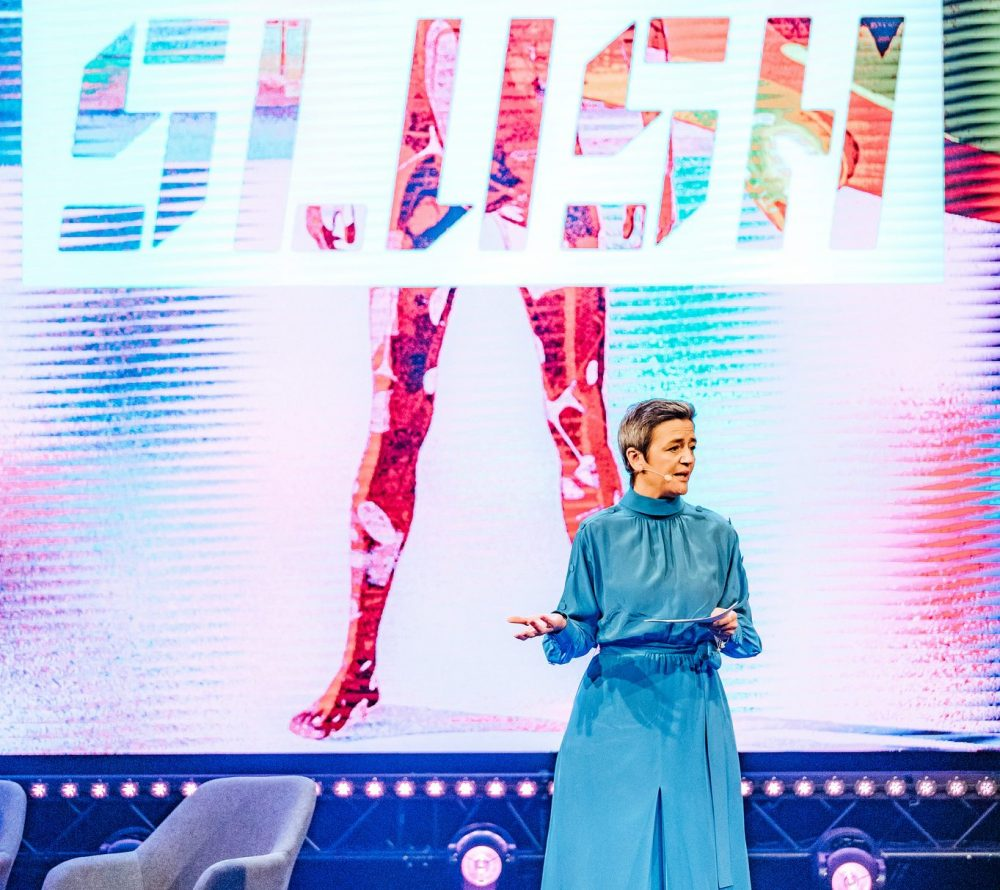 The European Commissioner for Competition Margrethe Vestager was impressed that Slush is an epicentre of innovation at the gloomiest time of the year.