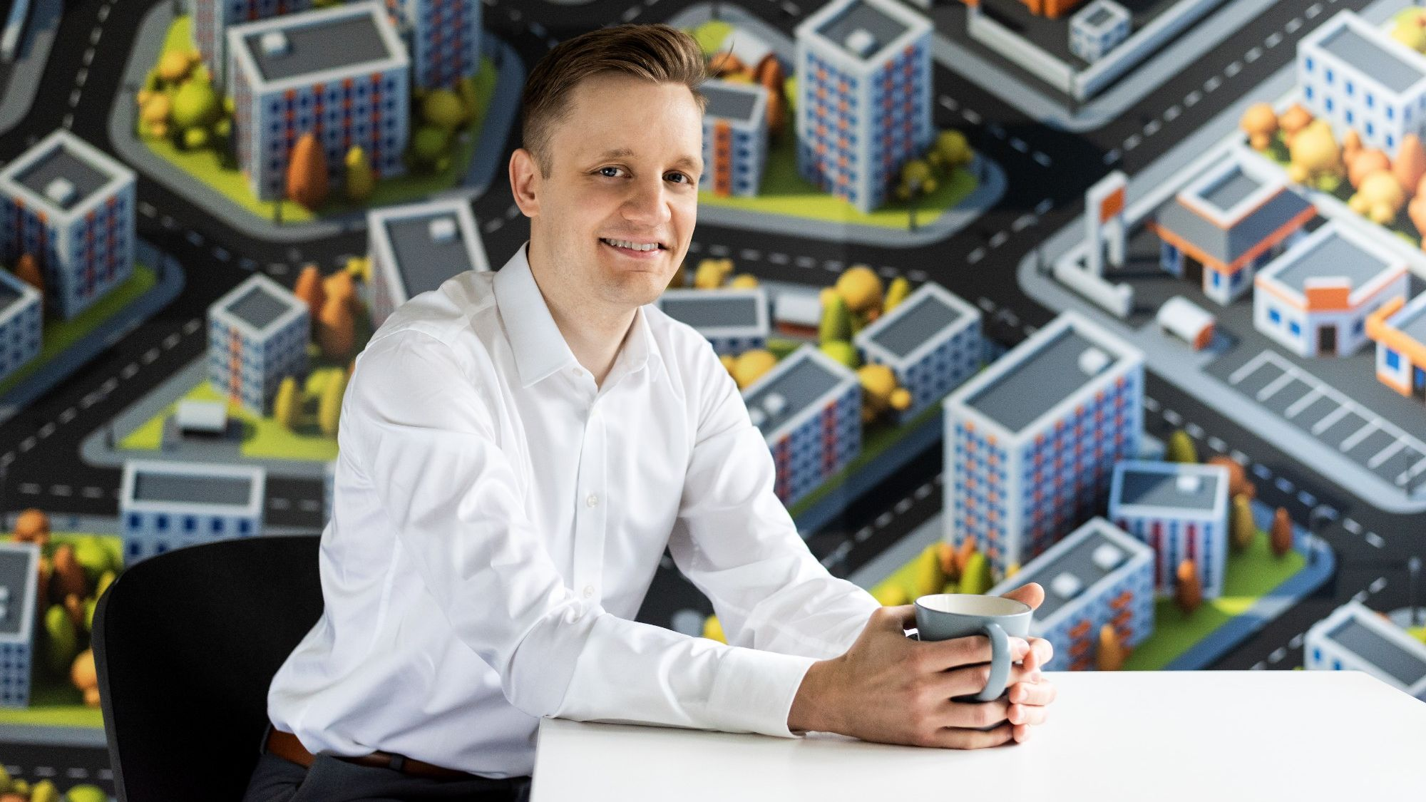 """I believe artificial intelligence will completely reshape the way properties are maintained in future,"""" says Jukka Aho."""