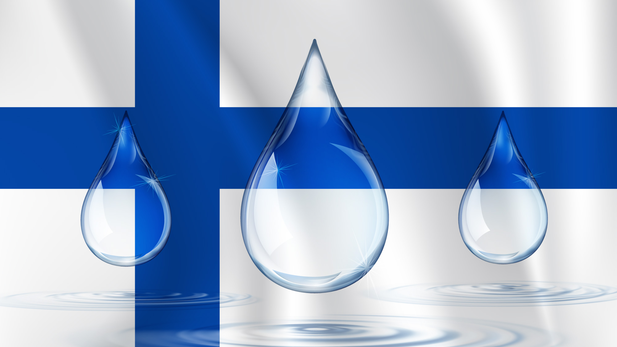 Finns innovate with H2O just like a duck takes to water.