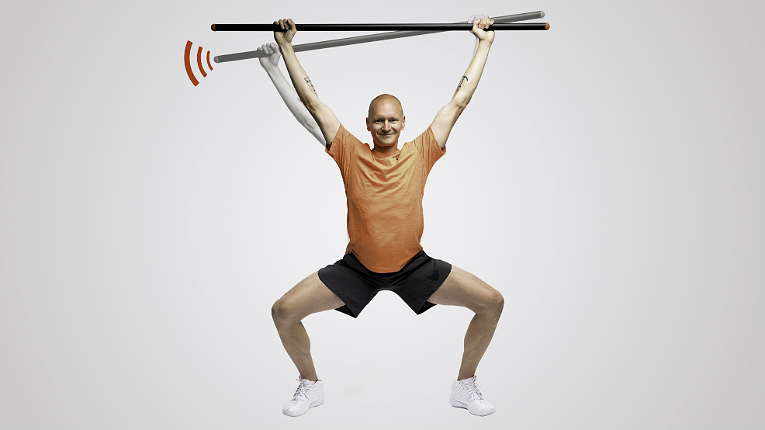 TE3 Balance has transformed the traditional exercise stick into a personal physiotherapist.
