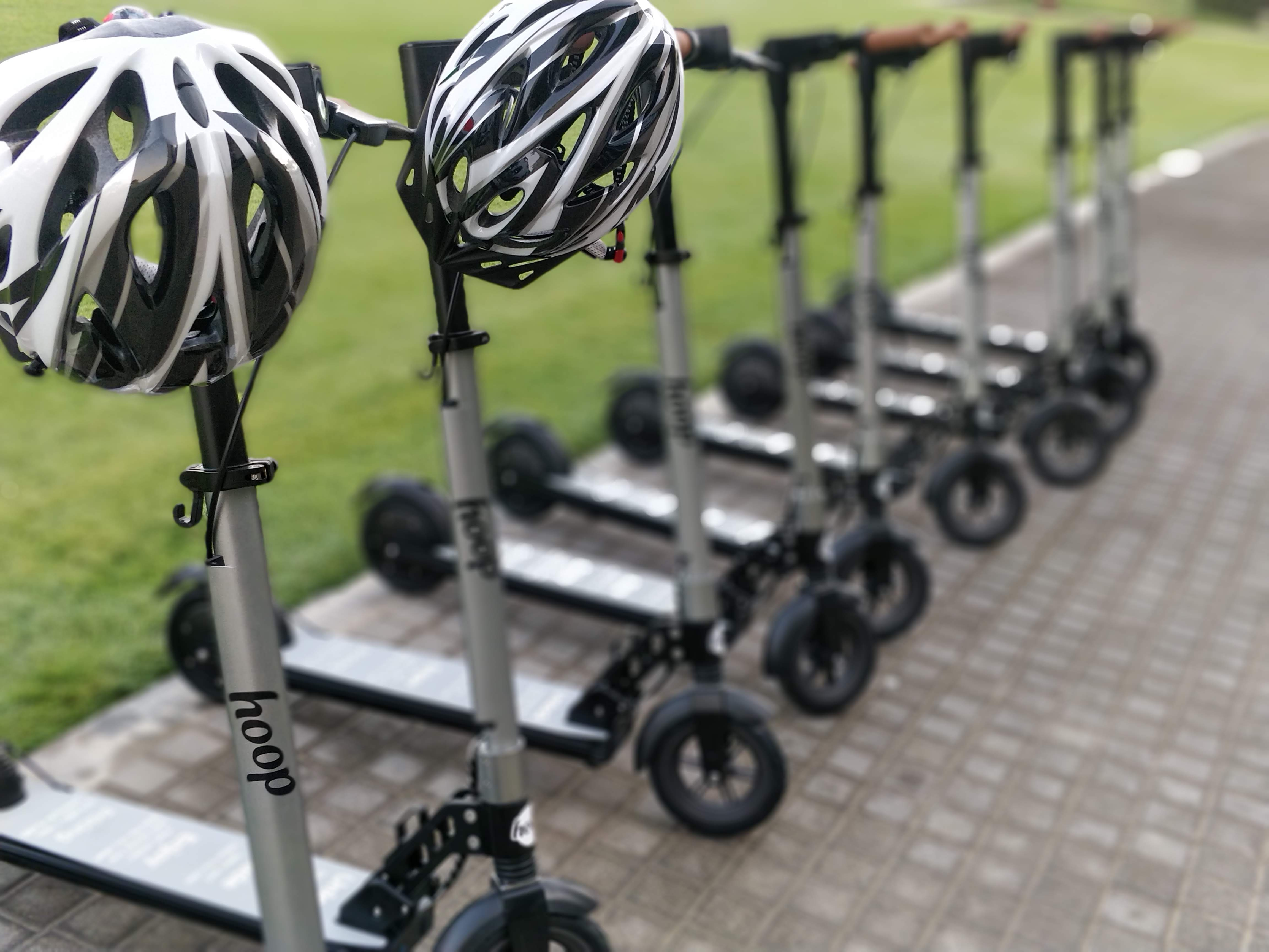 Hoop's electric scooters launched in Dubai in early March. Helsinki will follow as the spring weather arrives in the Nordics.