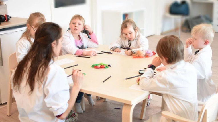 Children who learn scientific skills before school have been shown to have an easier time with general learning.