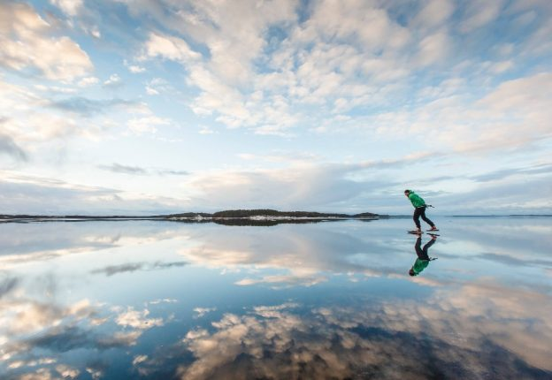 Finland has been ranked the fittest Western country by the World Health Organization. (Photo: Mikko Nikkinen)