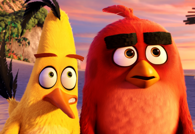 The recognisable birds from Rovio landed in Cannes to celebrate their film sequel, Angry Birds Movie 2. (Photo: Rovio)