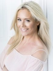 Co-founder Anne Kukkohovi, who's well known in Finland as a TV presenter and former model.