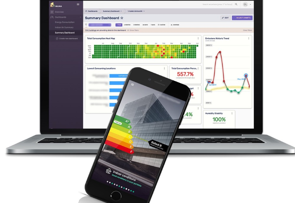 Nuuka Solutions mobile and computer applications