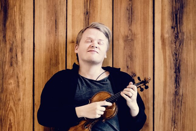 Pekka Kuusisto (pictured) and a host of other Finnish musicians will jam with the Rotterdam Philharmonic Orchestra to honour Jean Sibelius. (Photo: Felix Broede)