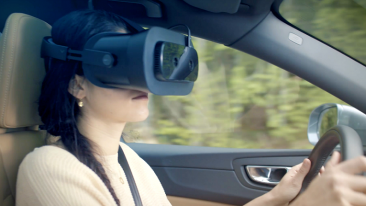 Varjo and Volvo have launched technology that enables for the first time a driver to wear a mixed reality headset while at the wheel.