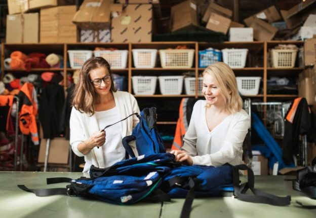 From waste to waist - Finnish fashion companies are upcycling surplus materials into new attire. (Photo: Globe Hope)