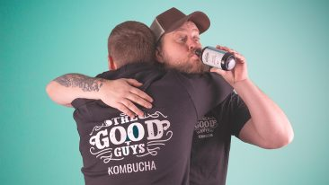 The idea for Good Guys Kombucha came from travellers coming home with great experiences.