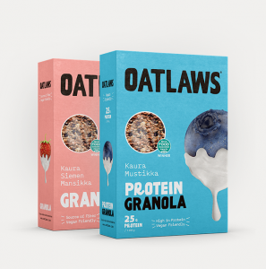 The company's granolas contain oats, seeds, extra protein, freeze-dried berries and a hint of sweetness from agave syrup.