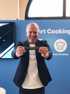 """We believe our smart cooking sensor will bring added value to all kinds of people, but initially our focus is on smart home early-adopters,"""" says Mikko Reinikainen."""
