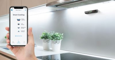 Safera Sense is designed with the distracted chef in mind.