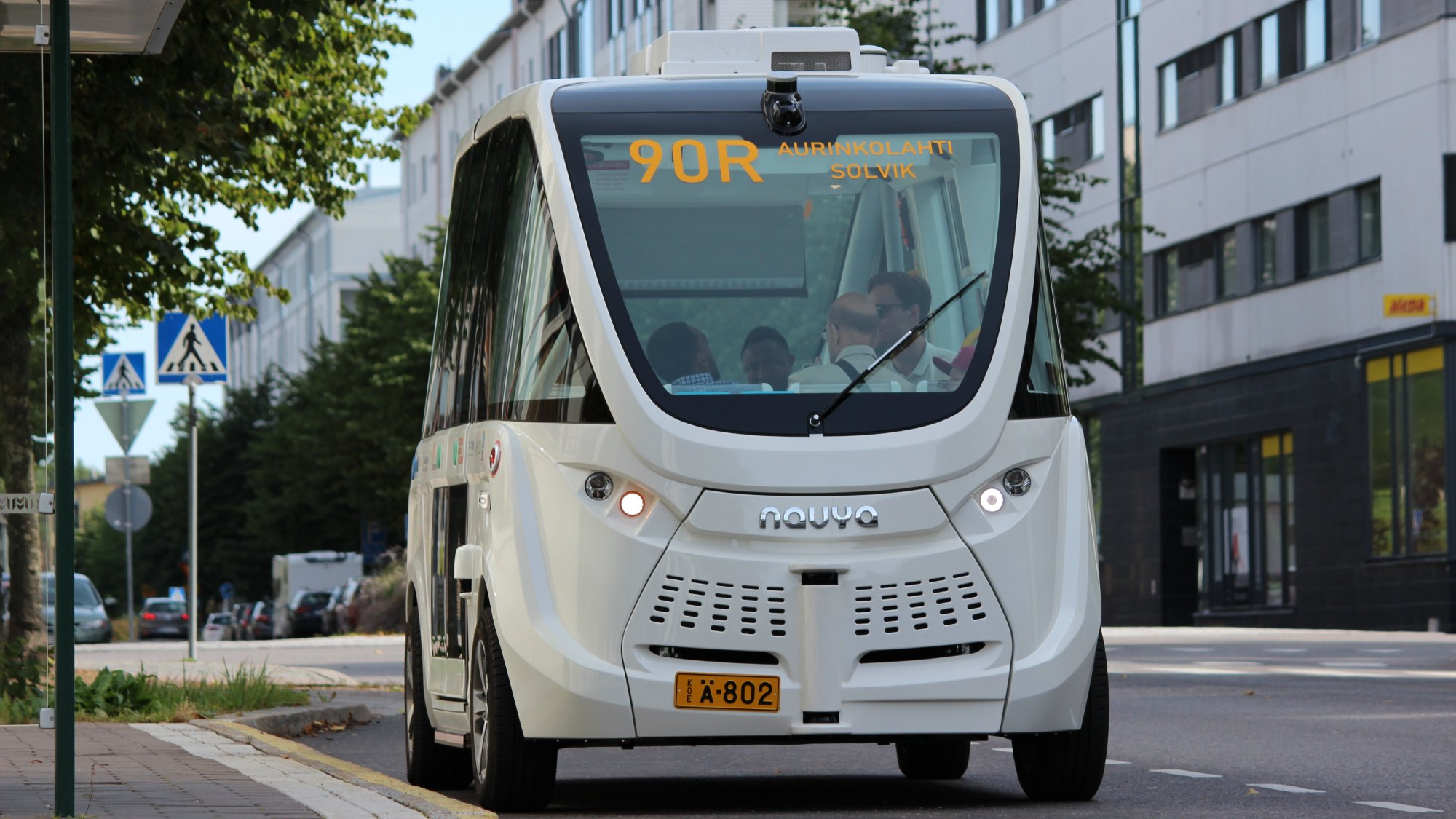 automated bus shuttle