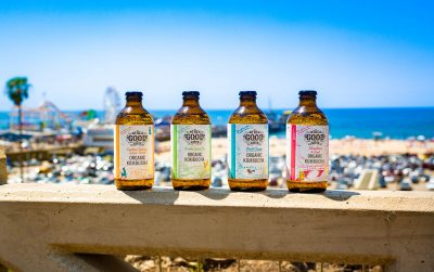 The company hopes to replace soda pop with all-natural do-good kombucha.