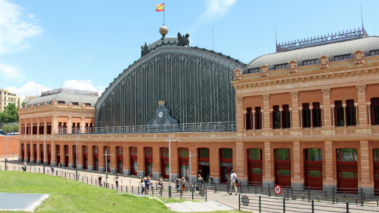 KONE is involved in a massive renovation of the Atocha railway station in Madrid, Spain.