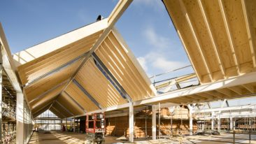 Metsä Wood has supplied laminated veneer lumber to the development of the historic Cranleigh School in Surrey.