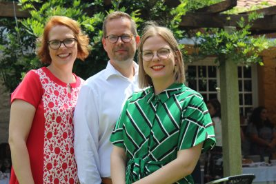 Aarrekid takes pride in being a family-run business. (left to right) Riikka, Marko and Laura.