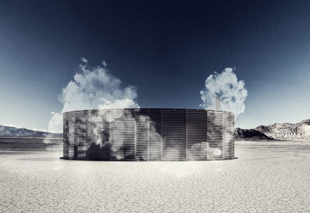 If you ever find yourself in the middle of the Nevada desert, chances are you'll find a sauna - at least during this year's Burning Man festival thanks to JKMM Architects and Sauna on Fire. (Photo: JKMM Architects)