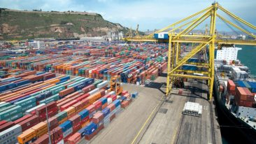 Konecranes' ship-to-shore cranes will ease container handling in Lithuania.