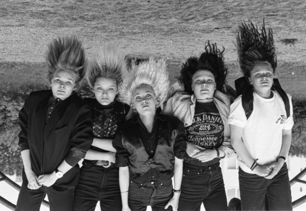 Svart Records will reissue the complete discography of Santa Lucia, the '80s/'90s all-things-heavy-and-punk girl band. (Photo: Svart Records)