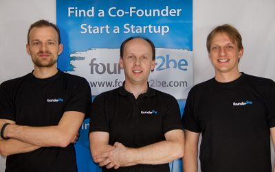 Originally from Germany, Oliver Bremer (right) has made Finland and its startup scene his home.