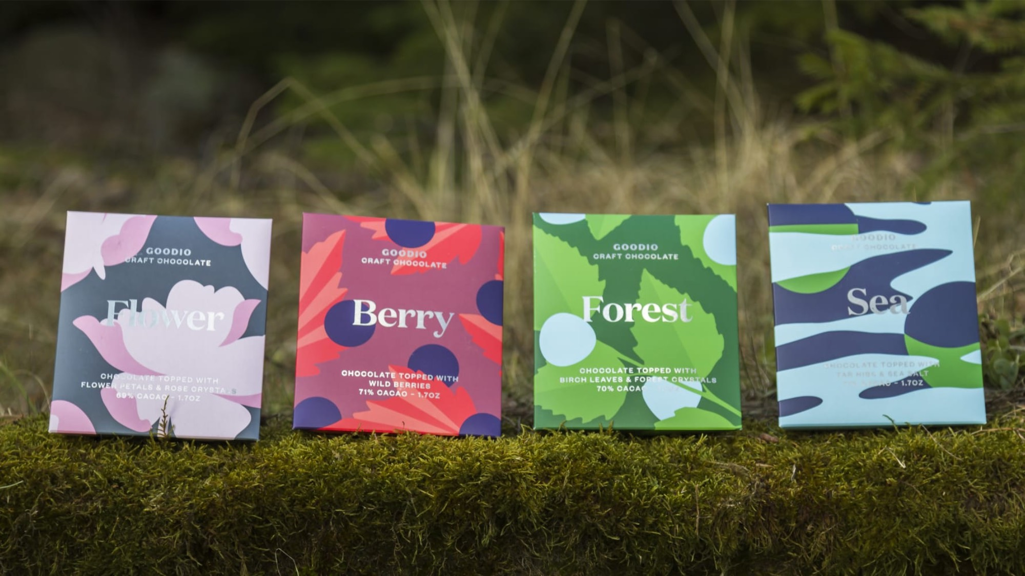 Goodio chocolate's named after nature