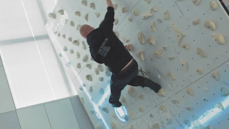 Wall climbing while working? Innovation House is committed to developing its service portfolio based on its members' requests.