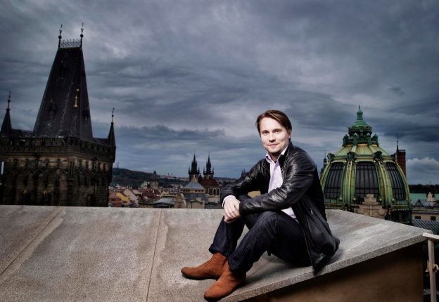 Pietari Inkinen's baton is leading the Prague Symphony Orchestra on a UK tour. (Photo: Nguye Phuong Thao)