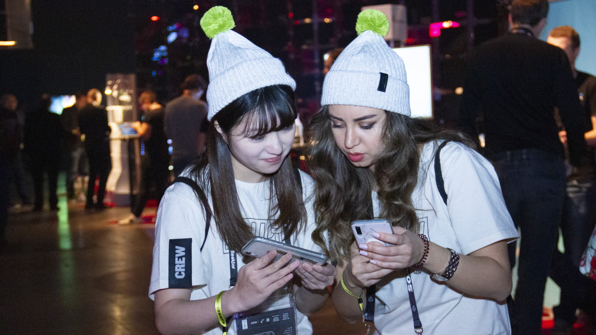 2 400 volunteers are on hand at Slush this year.