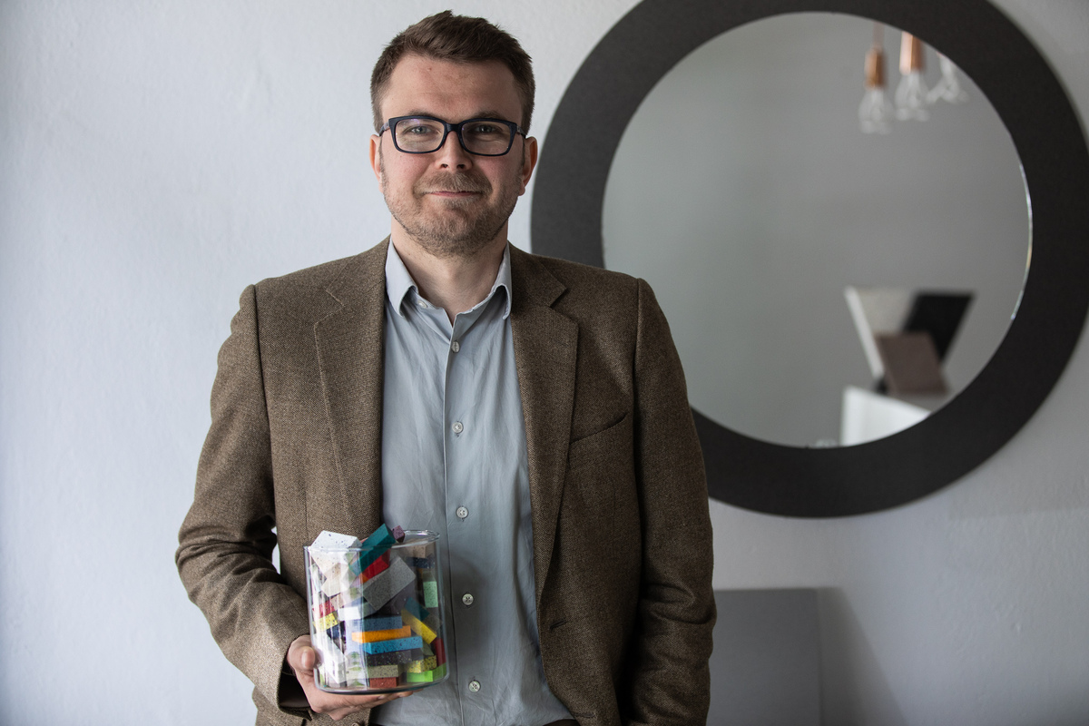 Heikki Karppinen, the CEO at Durat holding recycled plastics