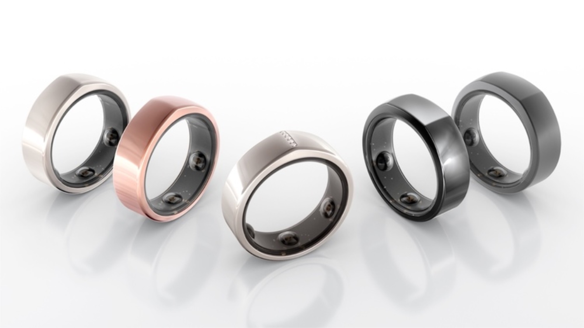Oura Rings in different colours
