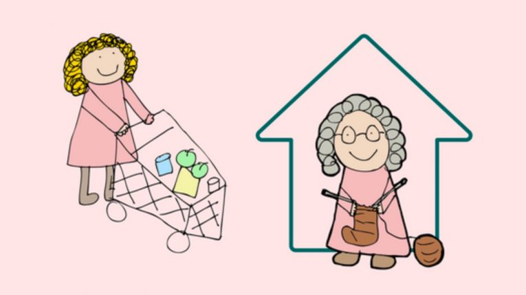 animation of home delivery