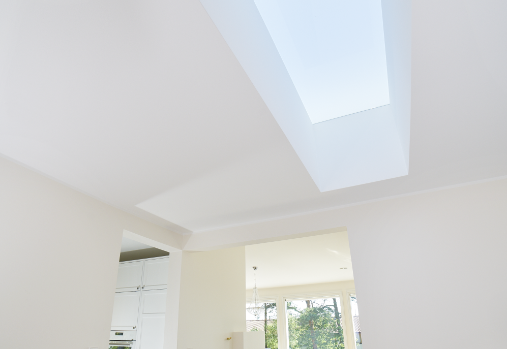 lighting system in ceiling of abode