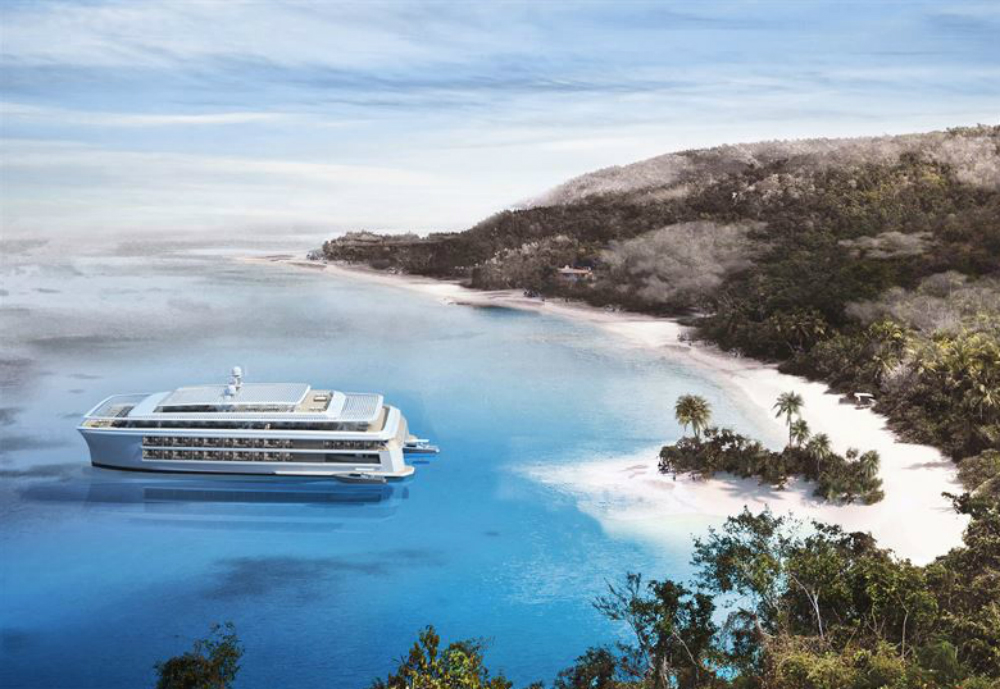 New sustainable boutique cruise vessel