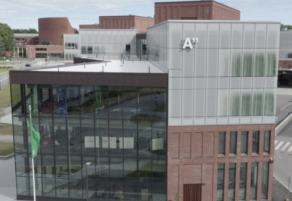 Aalto University campus from the air