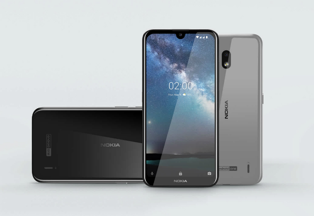 Nokia phones in different angles