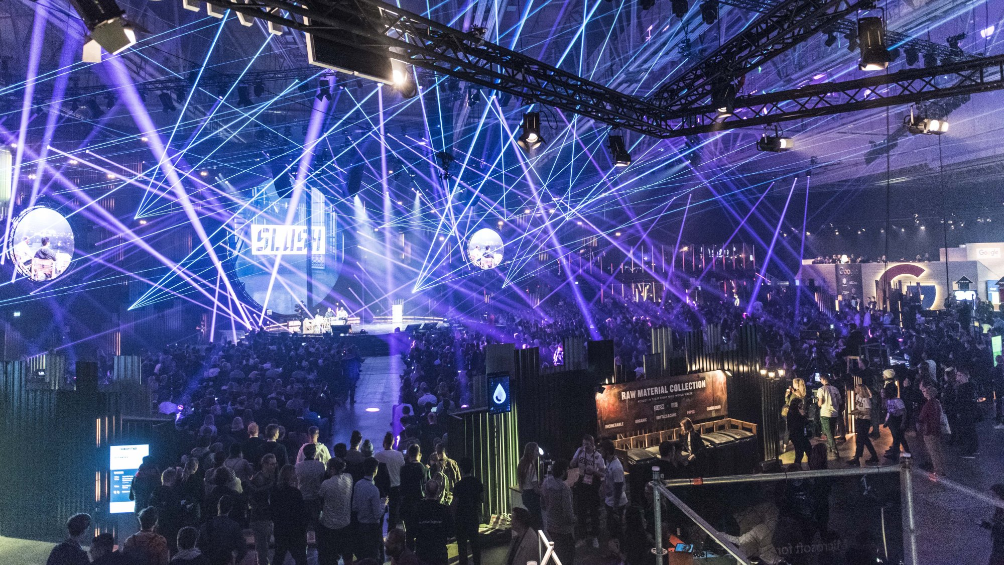 Attendees at Slush 2017.