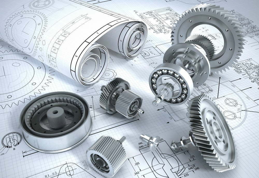 Nuts, bolts and drawings.