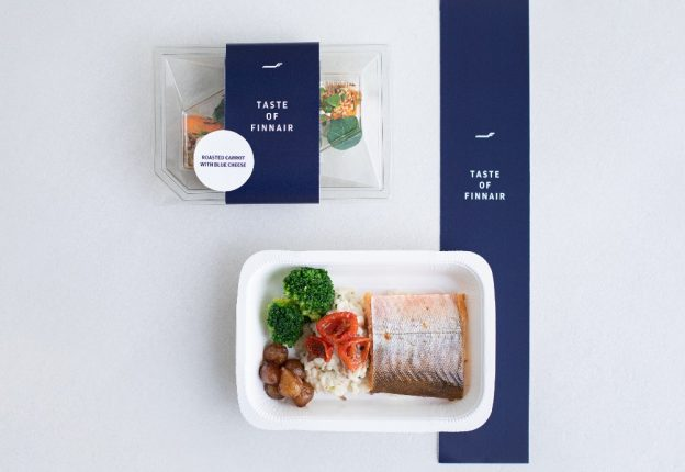 packaged airline food