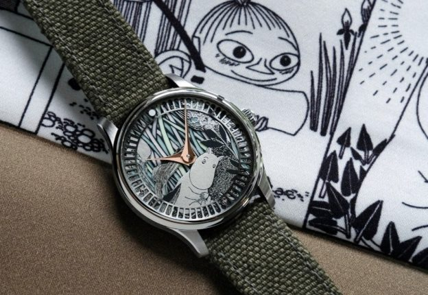 watch with moomin features