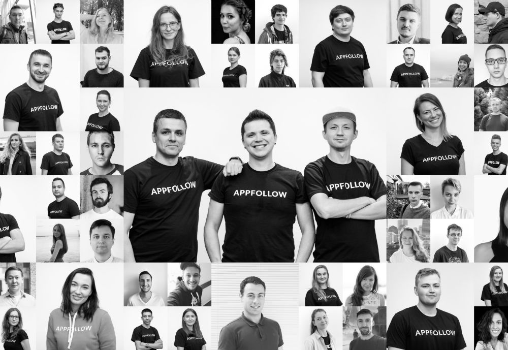 Many pictures of AppFollow employees