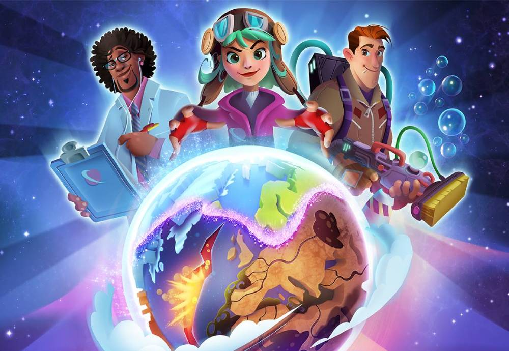 Planet Patrol animated characters